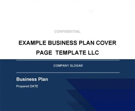 Business Plan Template Iwork Pages